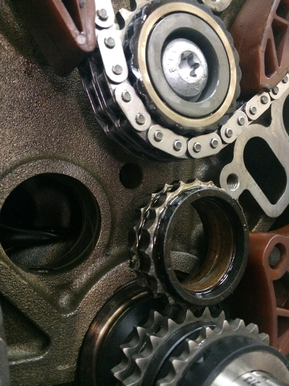 Mercedes m272 m273 p0017 p0016 for Mercedes benz m272 engine