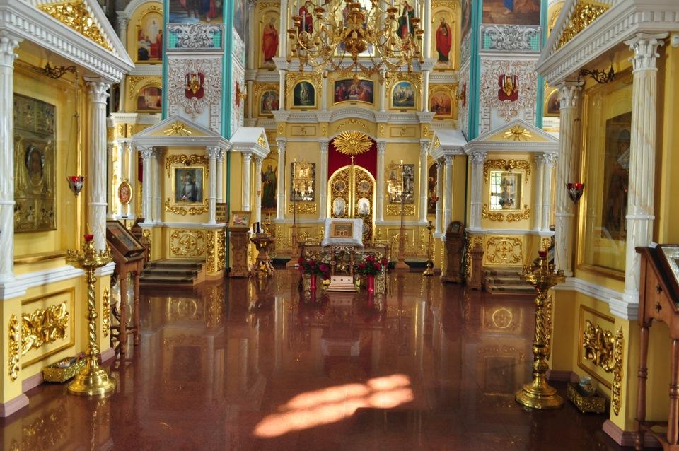 Храмы фото внутри