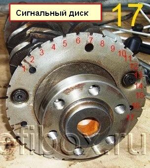 сигнальный диск маховика nissan maxima фото