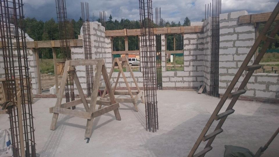 Заливка колонн бетоном своими руками