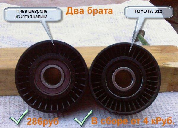 Замена ролика-натяжителя тойота королла Диагностика двигателя фольксваген б6