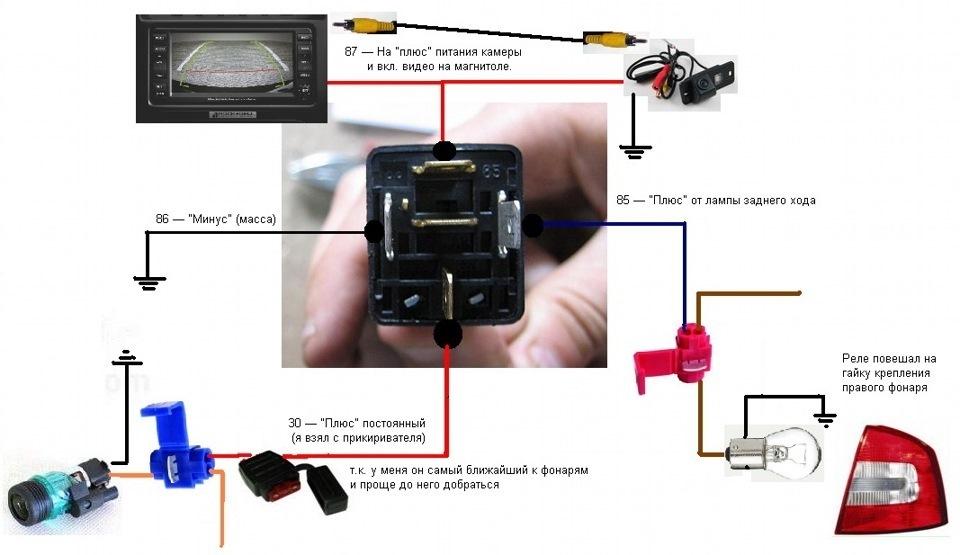 Как сделать камеру заднего вида для автомобиля своими руками