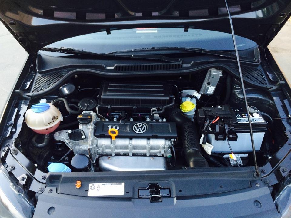 фото двигателя фольксваген поло седан