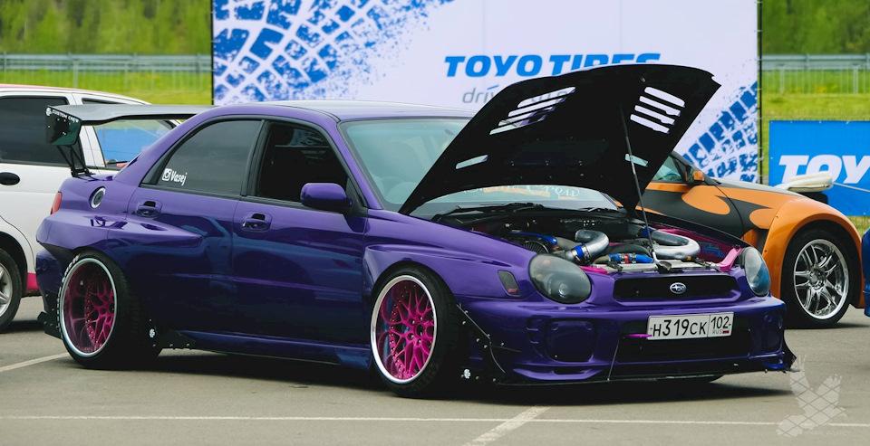 Победитель в номинации Custom заднеприводный 3-литровый турбо Subaru