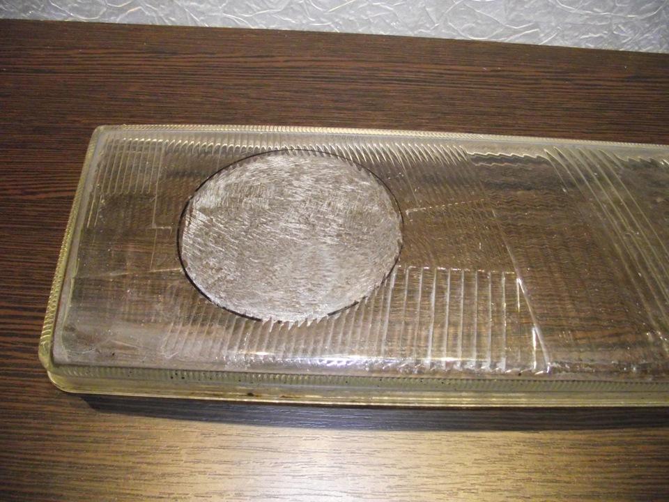Шлифовка стекла фары под линзу своими руками 76