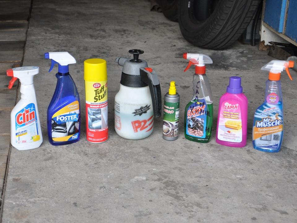 Средство для химчистка салона автомобиля своими руками