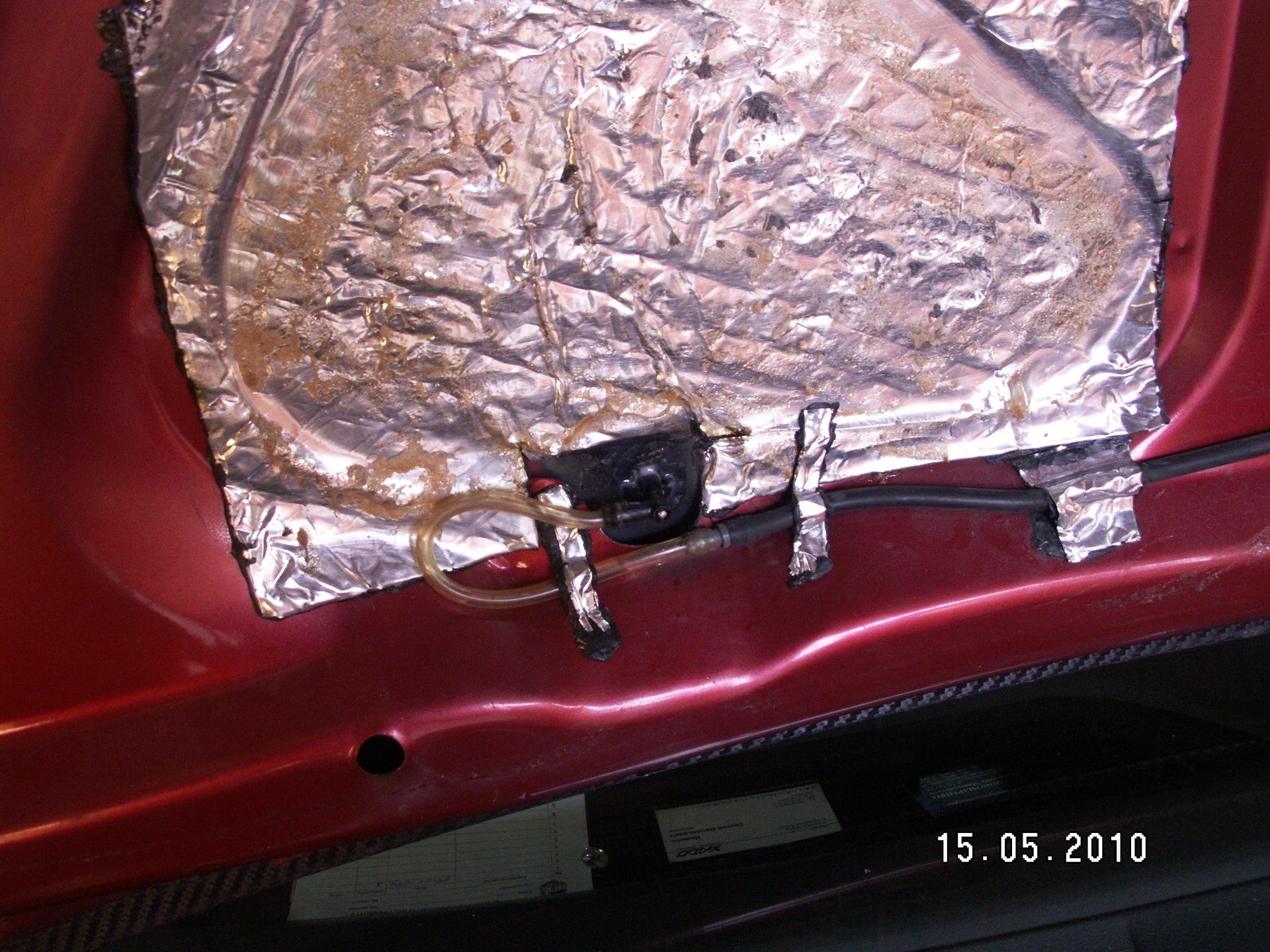 Замена кабеля аккумуляторной батареи ситроен с5