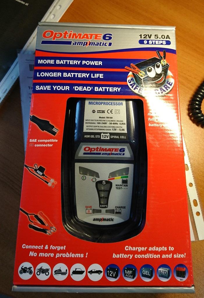 Зарядное для мото аккумулятора