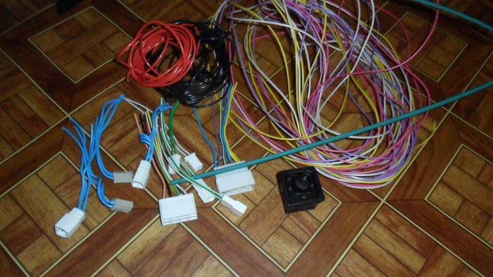Разъемы и провода