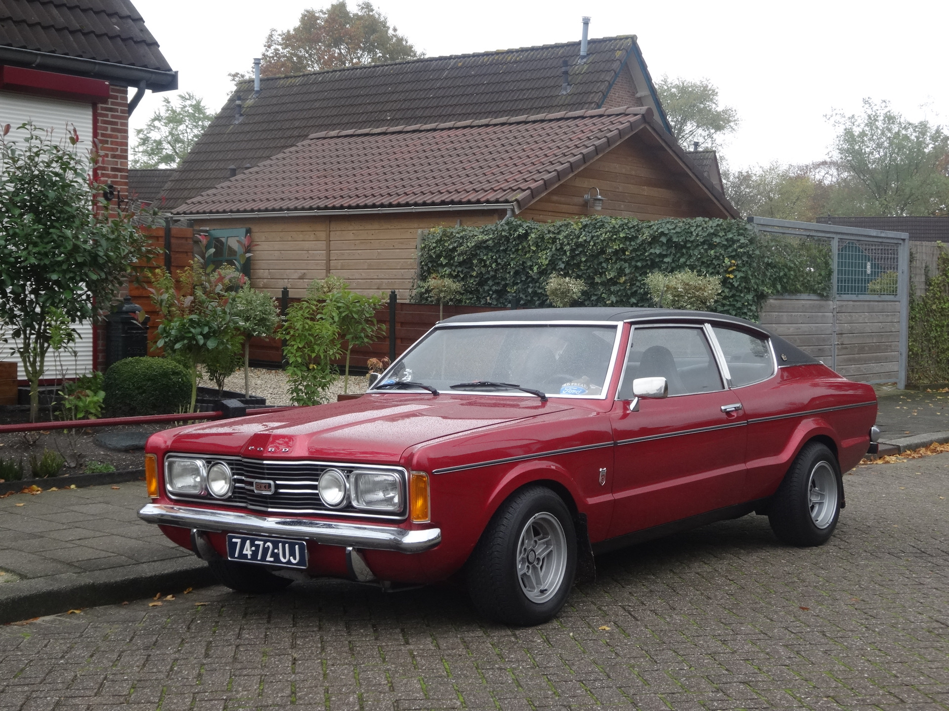 Ford taunus fastback ohc a4ld 1971 drive2 - Ford taunus gxl coupe 2000 v6 1971 ...