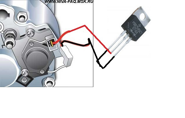 схема генератора повышение напряжения