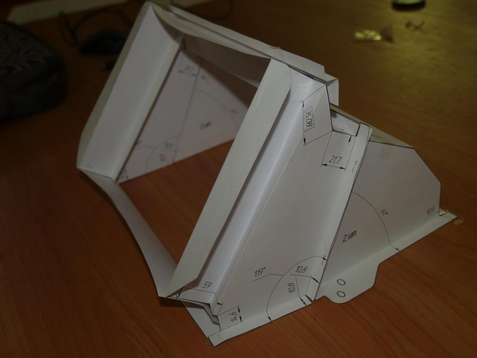 Адаптер салонного фильтра на ваз своими руками чертежи