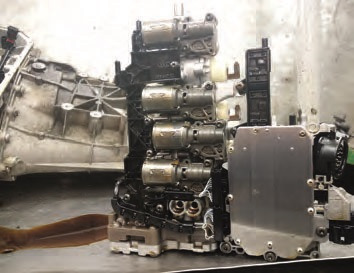 typical problems of the gearbox DGG-7 DL501 0B5 — logbook