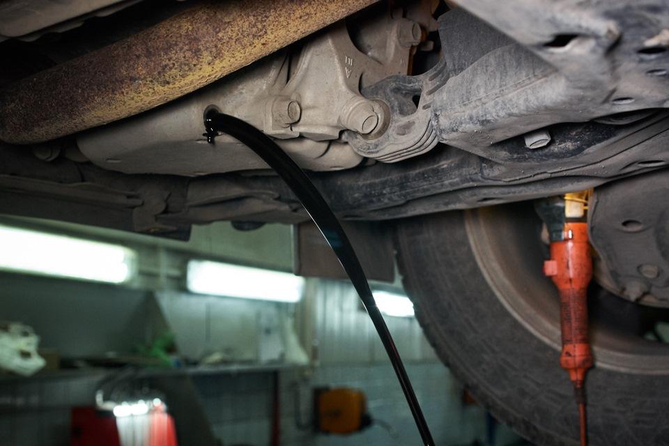 Отработанное моторное масло Honda CR-V