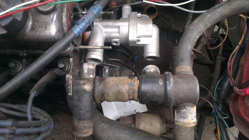 Фото №16 - термостат от ВАЗ 2110 на ВАЗ 2109