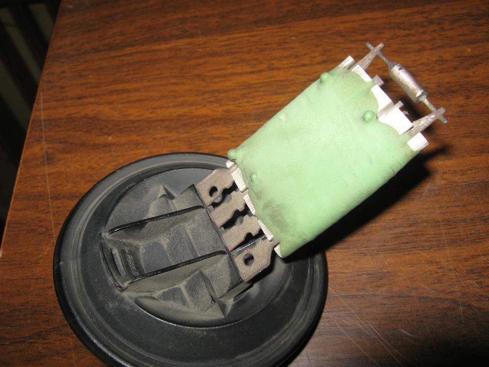skoda felicia чем можно заменить резистор печки
