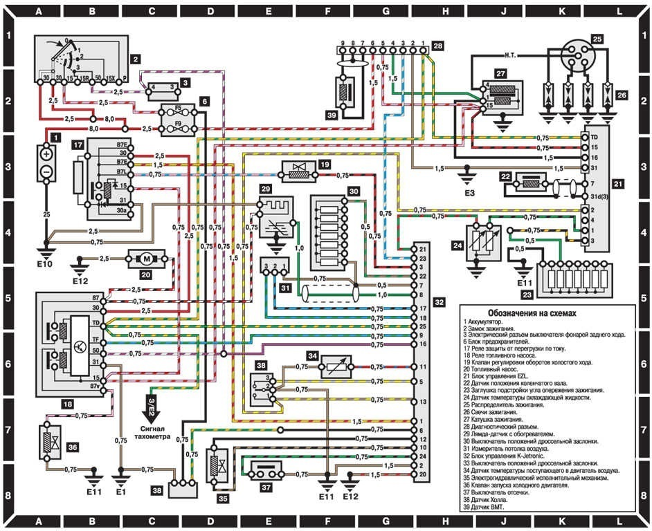 7c16392s 960 mercedes w124 ����� ��������������� ���������� mercedes benz e mercedes w124 wiring diagram at bakdesigns.co