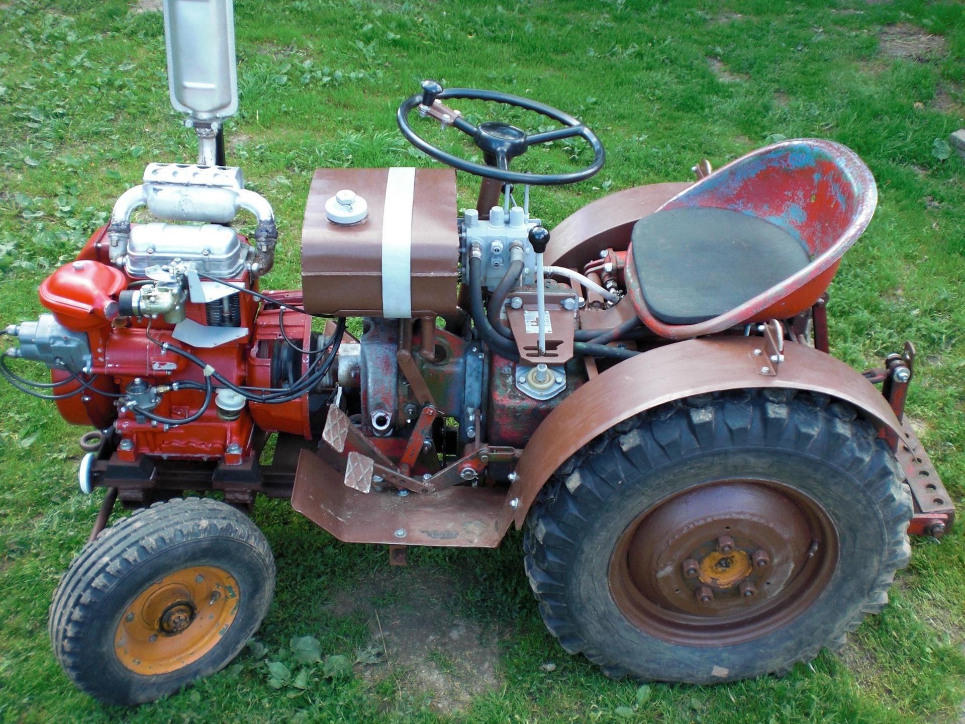 Самоделки своими руками тракторы