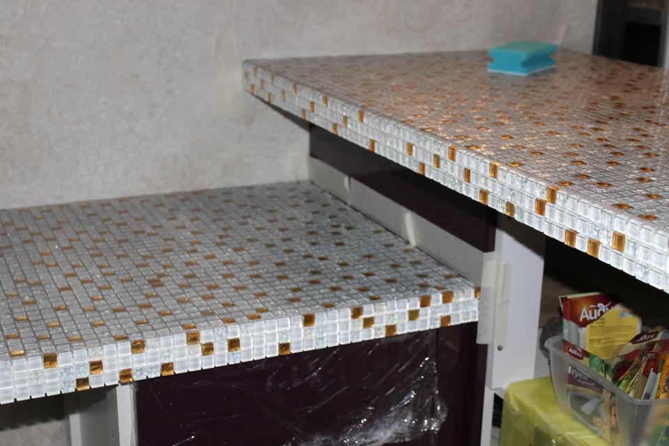 Мозаика своими руками для столешницы на кухне