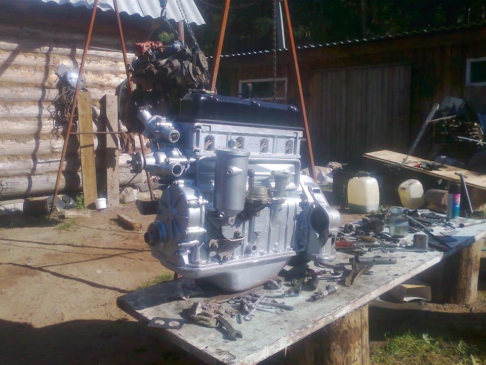 Фото двигателя змз 402