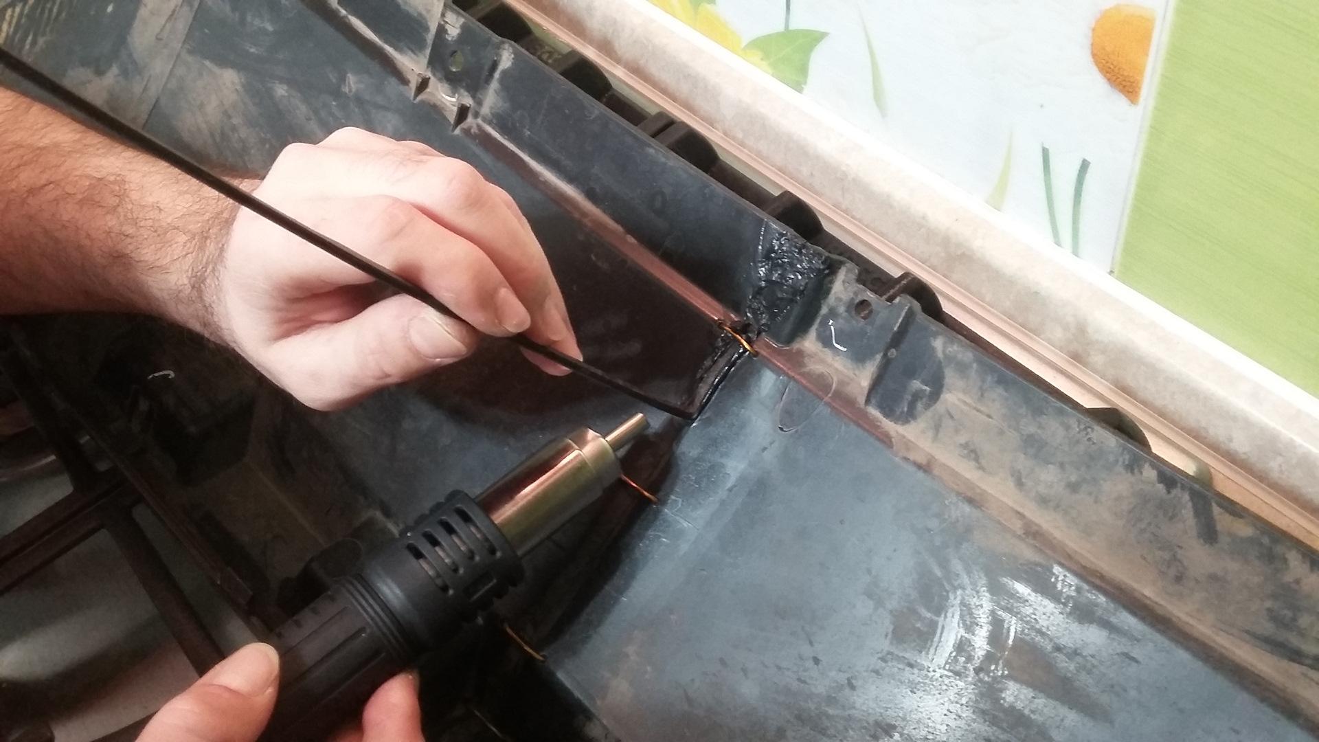 Как запаять бампер ваз 2110 своими руками в домашних условиях 71