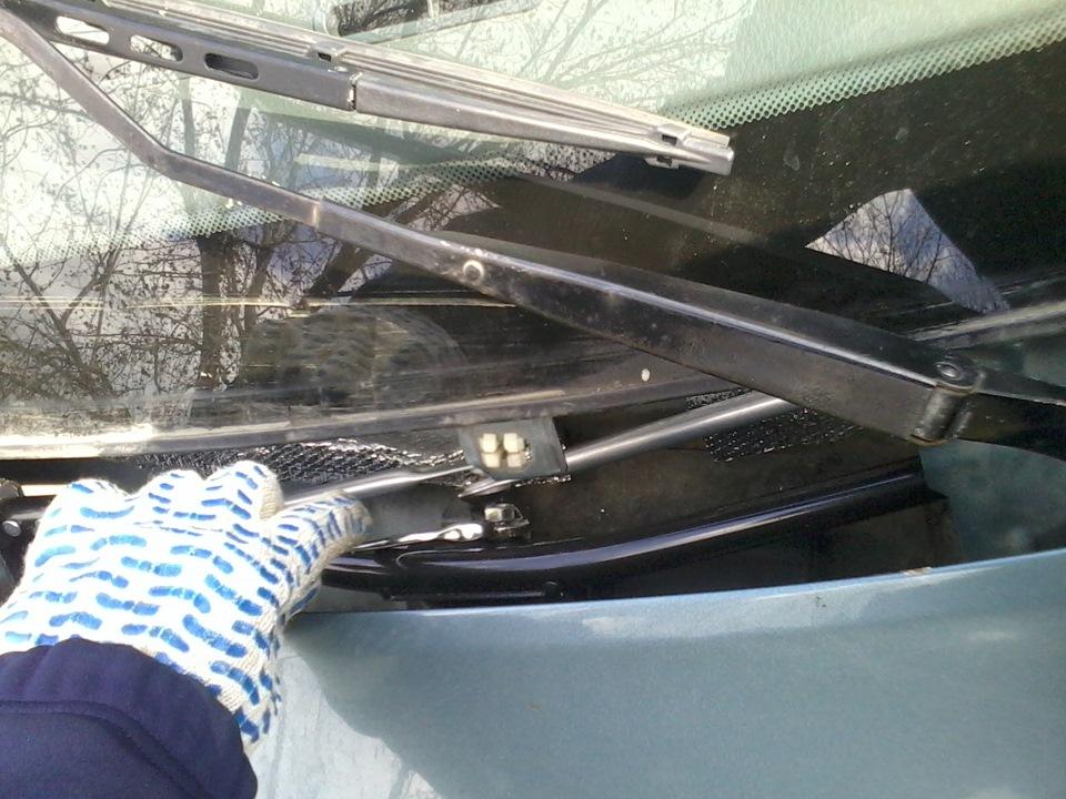 Как заменить трапецию стеклоочистителя на хендай портер