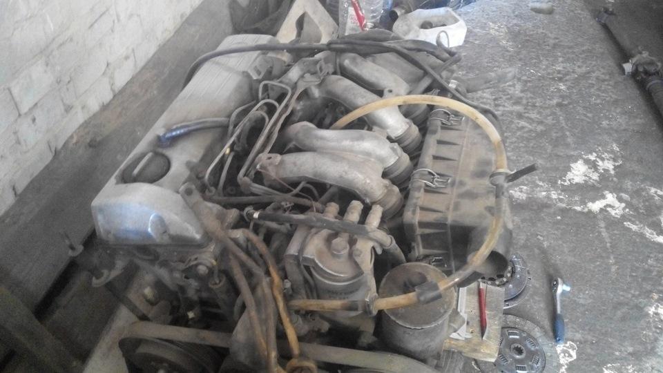 Двигатель на мерседес 124 2.0 дизель