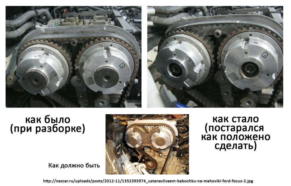 Как отрегулировать клапана на форд фокус