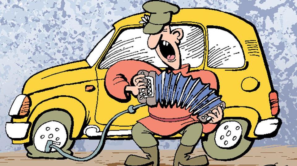 резиновых прикольные открытки автомобилей красной армии были