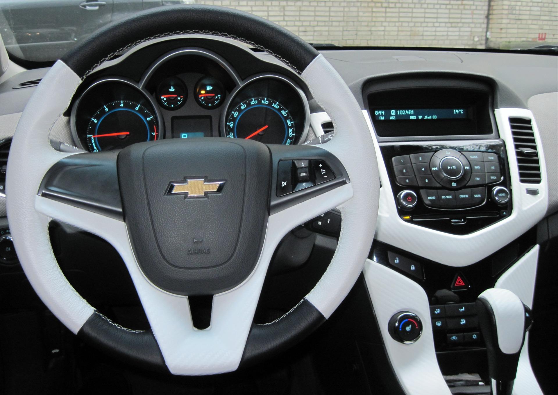 Доработки по салону 3d carbone — бортжурнал Chevrolet