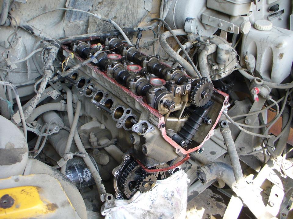 Ремонт газели 406 двигатель фото замена цепей