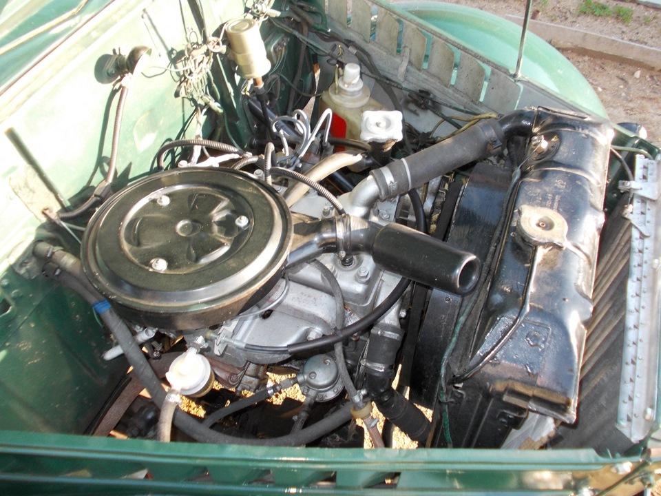 газ 69 двигатель фото