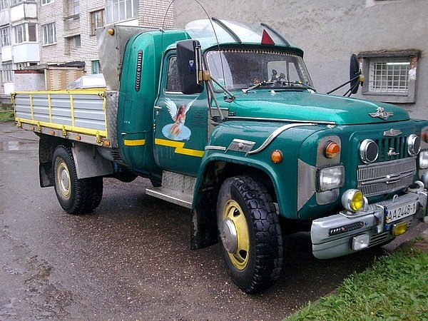 Тюнинг российских грузовиков своими руками