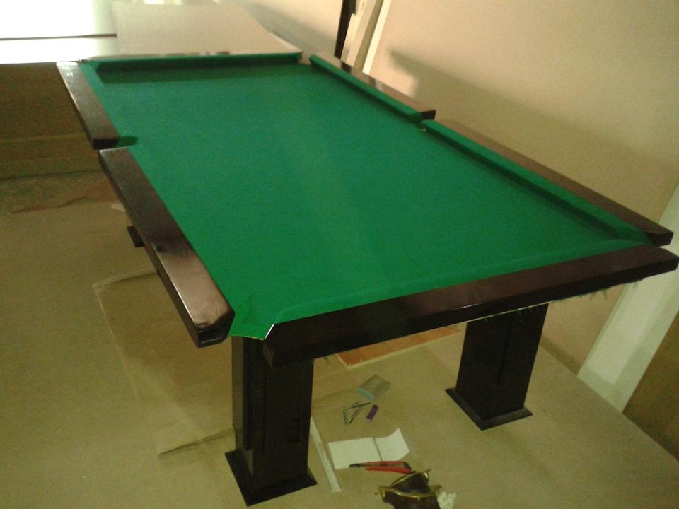 Как саму сделать бильярдный стол