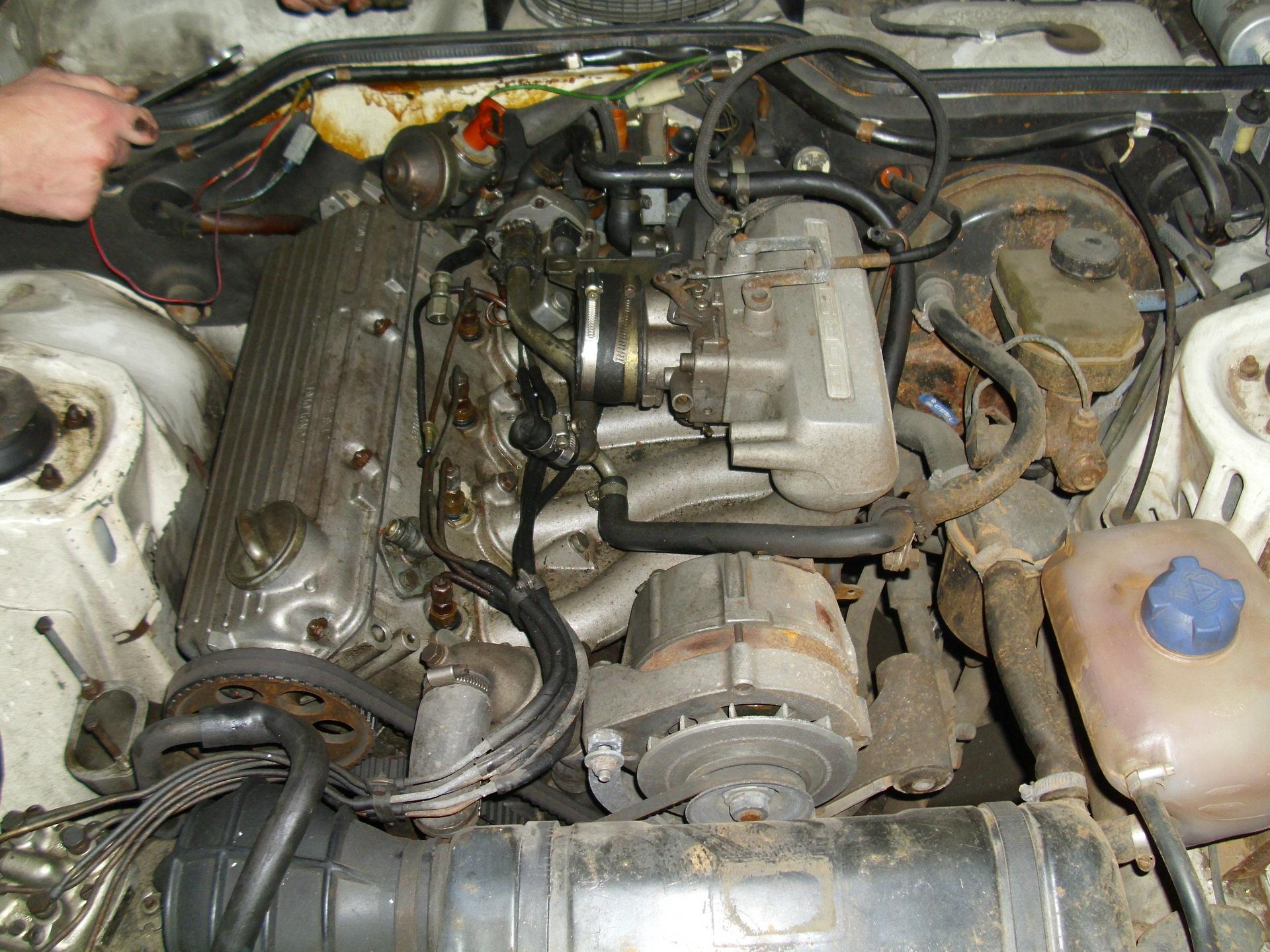 Обои двигатель, Porsche 924, 1980. Автомобили foto 8
