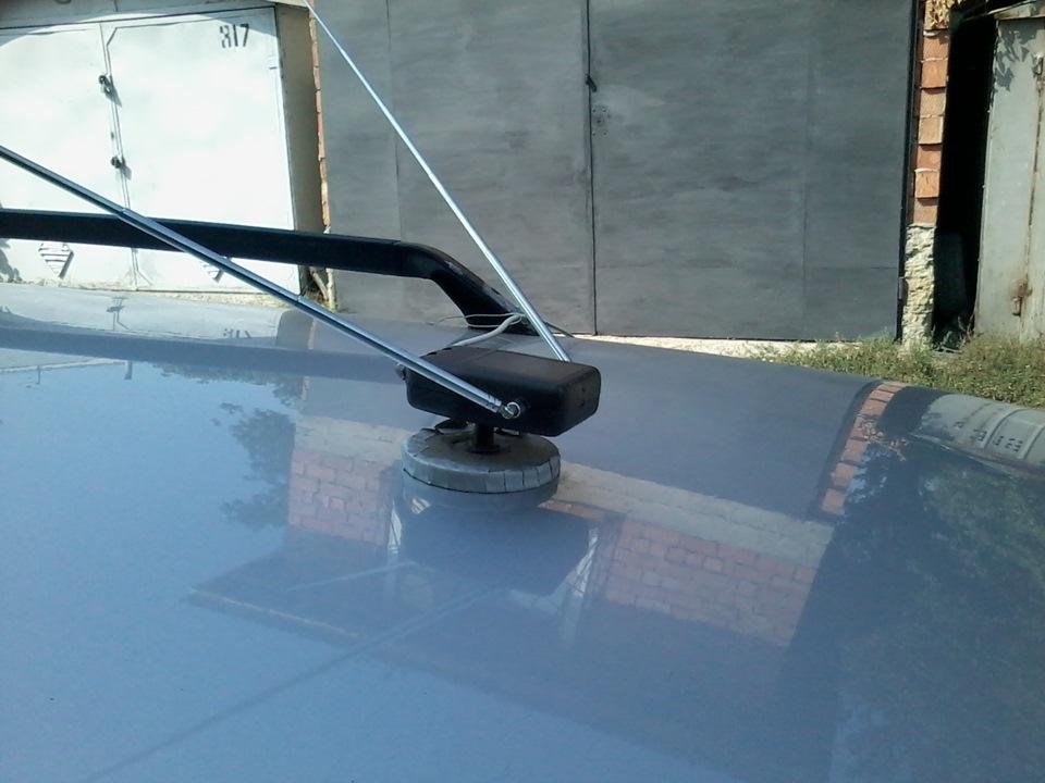 Автомобильная антенна своими руками фото