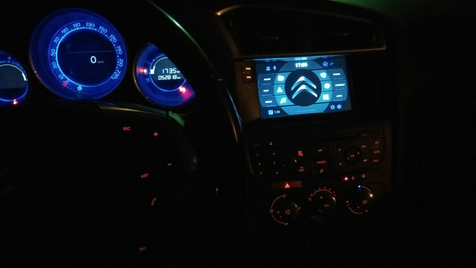 Car Launcher for Android — Citroen C4, 1 6 л , 2011 года на