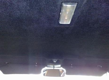 Как обшить потолок авто