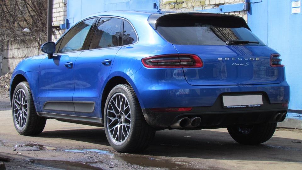Porsche Macan Sapphire Blue Owner Review Drive2