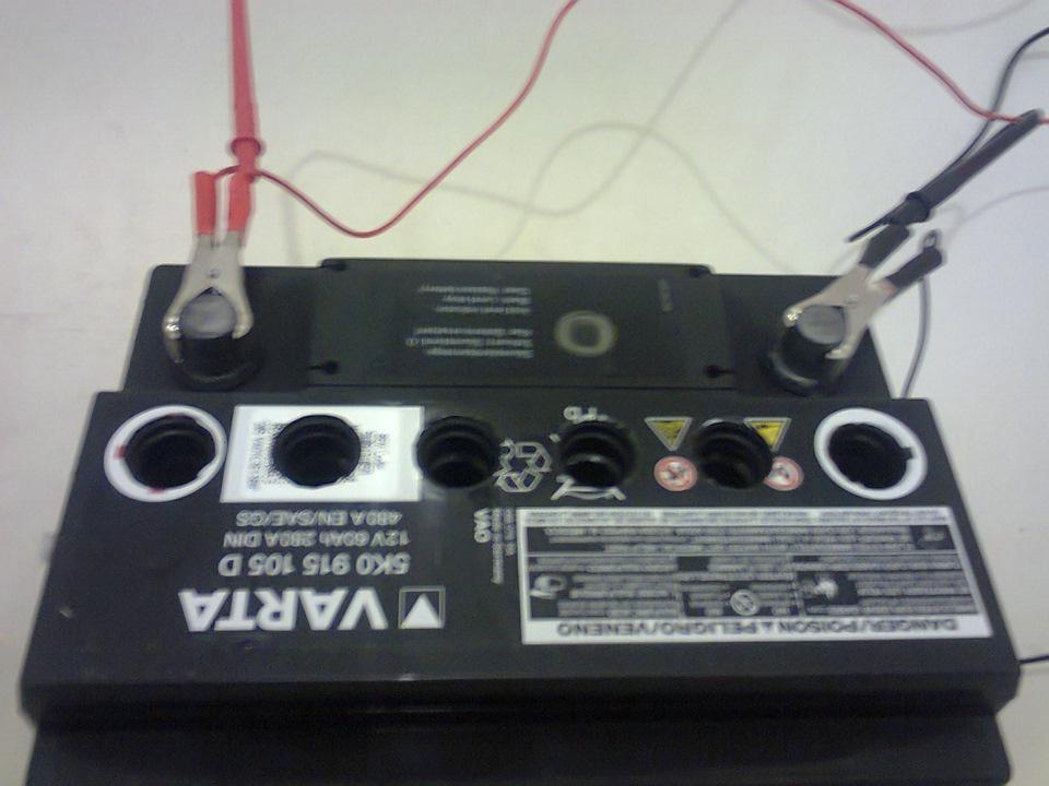 Аккумулятор 5K0 915 105 D обслуживаемый, долил