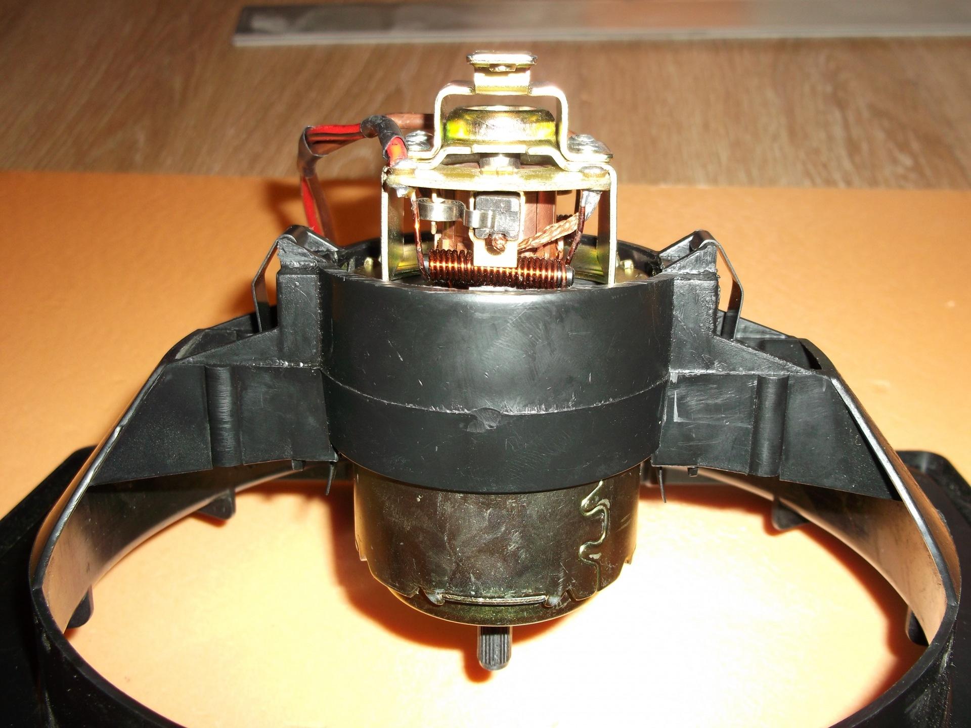 схема подключение электродвигателя отопителя ваз 2106