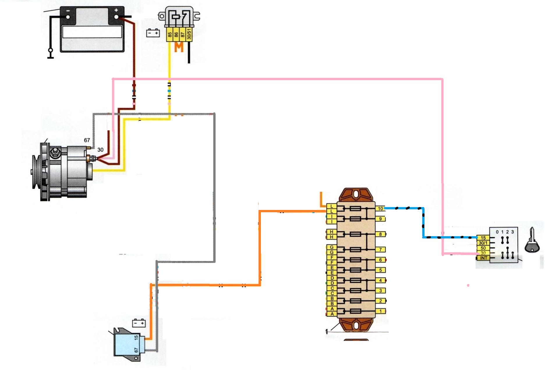 Схема генератора ваз 2106 регулятор фото 369