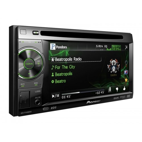 3 Pioneer Avh P1400dvd мультимедийный Dvd ресивер Honda