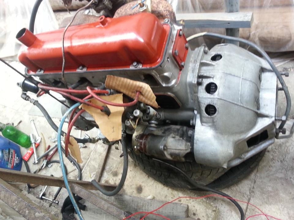 двигатель газ-21 фото