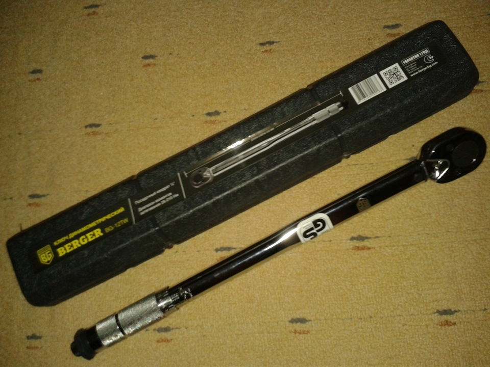 Динамометрический ключ 1 2