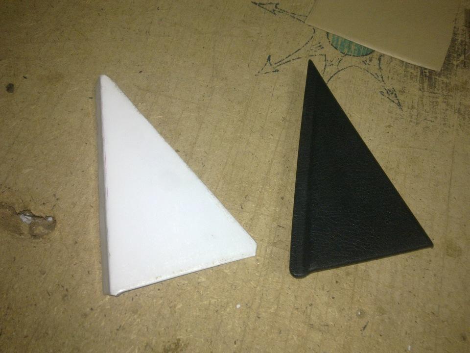 Как сделать треугольную дверь