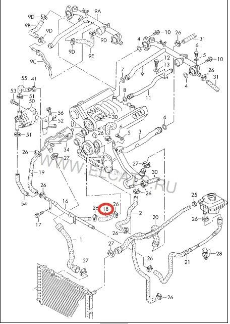 Патрубок теплообменника ауди а6 с5 сгорел теплообменник