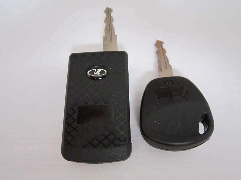 Ключ для автомобилей Лада Приора и Лада Калина Lada Samara (2113 2114
