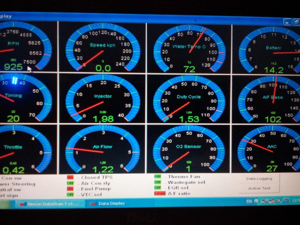 диагностика с помощью nissan consult — Nissan Pulsar GTI-R, 2 0 л