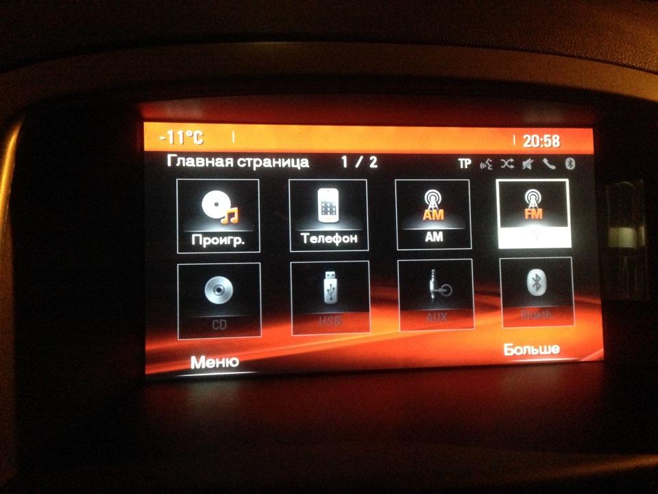 CD 600 intellilink — Opel Astra, 1 6 л , 2011 года на DRIVE2